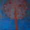 Red tree in my heart OIL in Canvas 1,520mmx1,220mm 1992